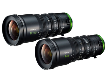 Rent: Fujinon MK 18-55mm & MK 50-135mm