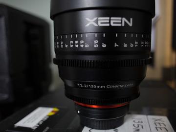 Rent: Rokinon XEEN EF 3 lens kit - choose 3 from 20, 50, 85, 135