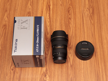 Rent: Tokina AT-X 16-28mm f/2.8 Pro FX (For Canon)