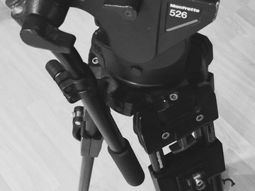 Rent: Manfrotto Tripod 526 Head