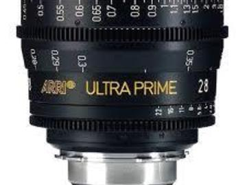 Rent: ARRI Ultra Prime 28mm T1.9 Lens