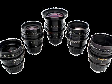 Canon K35 Lens Set (18mm, 24mm, 35mm, 55mm, 85mm)