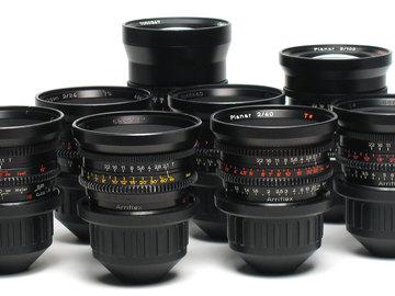 Zeiss Standard Speed 9 Lens Set (Choose any six lens)