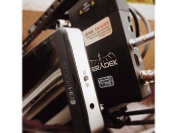 Small HD 702 and Teradek Bolt 300