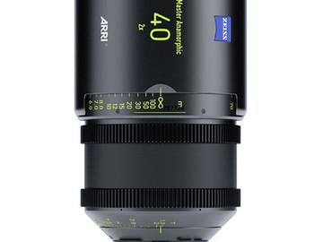Rent: ARRI Master Anamorphic 40mm Lens
