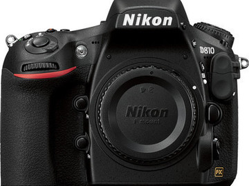 Rent: Nikon D810 - Kit bundle -