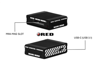 Rent: RED Station RED MINI-MAG - USB 3.1 (10 Gbps)