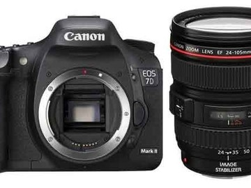 Rent: Canon EOS 7D Mark II & Canon 24-105mm f/4 Lens Package