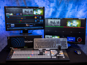 Rent: Newtek Tricaster 860 w/ Advanced Addition