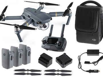 Rent: DJI Mavic Pro Fly More Combo + 3 Batteries and Filters