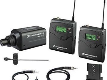 Rent: Sennheiser G2 Wireless LAV Kit