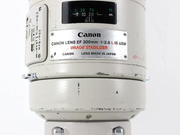 Rent: Canon EF 300mm f/2.8 L IS USM