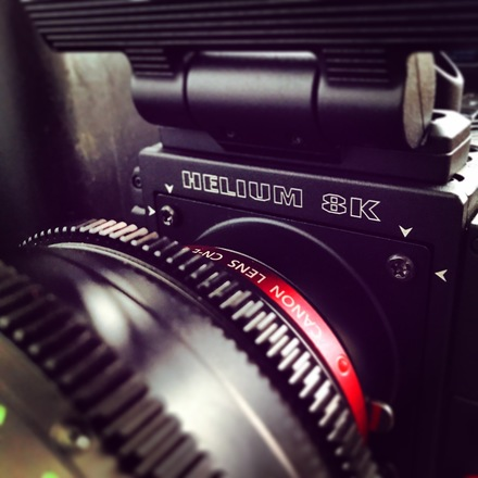 RED Epic Helium S35 8K Package
