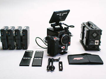 Rent: RED Scarlet M-X 4K Body Package