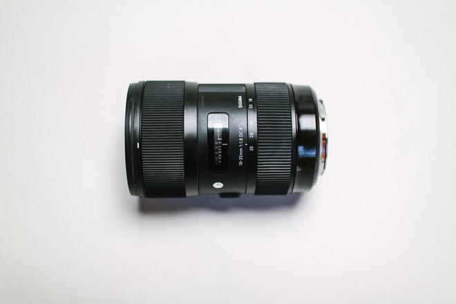 Sigma 18-35mm f/1.8 Art EF Mount