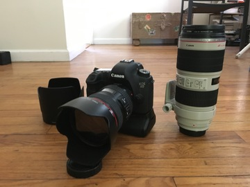 Rent: Canon EOS 6D Complete Package w/ 24-105 f4 + 70-200 f2.8