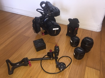 Rent: Canon EOS C100 Cinema Camera ENG Kit
