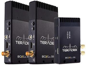 Rent: Teradek Bolt 300 1:2 SDI Wireless Video Transmitter Kit
