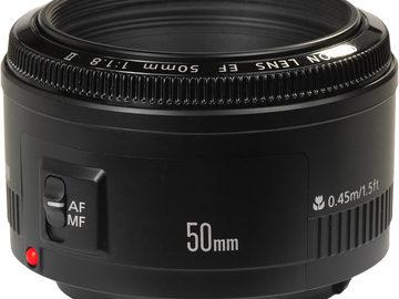 Rent: Canon EF 50mm f/1.8 USM