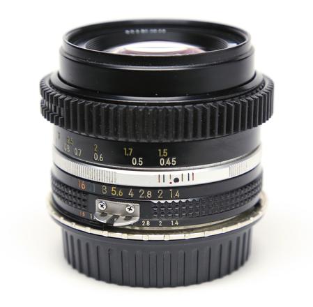 Nikon 50mm f/1.4 AI-S Declicked & ZipGeared w/ EF adaptor