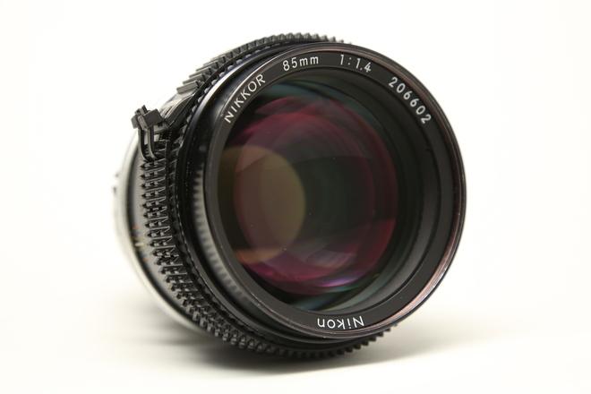 Nikon 85mm f/1.4 AI-S Declicked & ZipGeared w/ EF adaptor