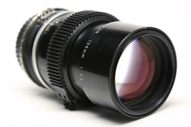Nikon 135mm f/2.8 AI-S with EF adaptor and ZipGear