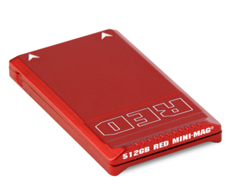 Rent: RED MINI-MAG (1) 512GB and (2) 120GB