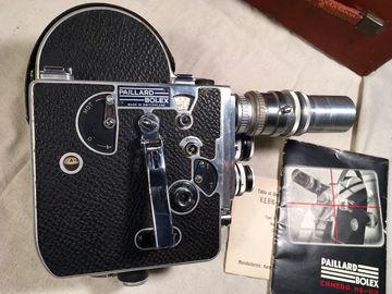 Bolex Reflex 16mm Film Camera