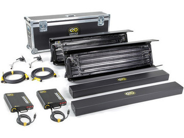 Rent: Kino Flo Gaffer Kit: 2 x 4-ft 4-Bank Kit
