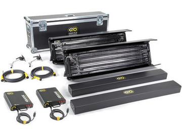 Kino Flo Gaffer Kit: 2 x 4-ft 4-Bank Kit