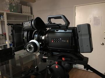 Rent: URSA Mini 4.6K PL Camera w/Zeiss LWZ.2 15.5-45 T2.6 Zoom