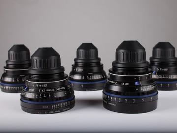 Rent: Zeiss  CP.2 Lens Set w/ Zeiss LWZ.2 15.5-45 T2.6 Zoom