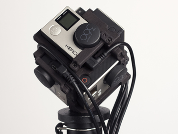 Rent: VR / 360 GoPro Hero 4 Black Camera Rig