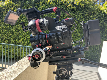 Rent: Canon C300 Mark II (MkII) Full Package + Zacuto Gratical Eye