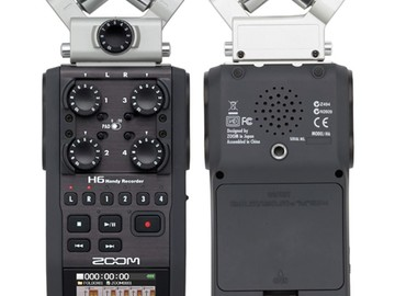 Rent: Zoom H6 Digital Recorder