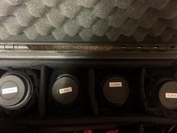 Rokinon 24, 35, 50, 85mm T1.5 Cine DS Lens Bundle for Canon