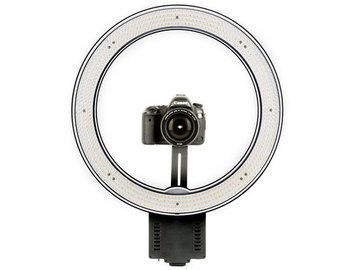"""Rent: Angler Circo Dimmable LED Ring Light (19"""") Beauty Dish"""