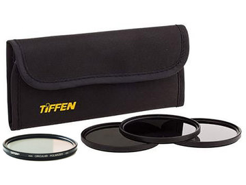 Rent: Tiffen 58mm Filter Set With Polarizer, ND (2, 3, 4 stops)