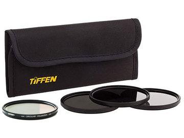 Rent: Tiffen 58mm Lens Filter Set w/ Polarizer, ND (2, 3, 4 stops)