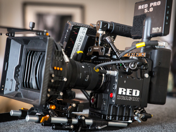 Rent: Red Epic-M Dragon Cinema package with lenses