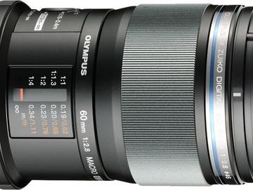 Rent: Olympus M.Zuiko Digital ED 60mm f/2.8 Macro Lens