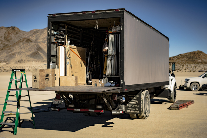 5-ton Grip and Electric G&E Truck