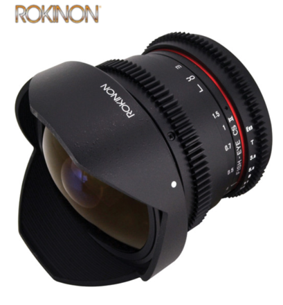 Rokinon Cine 8mm T3.8 Fisheye for Canon EF-S