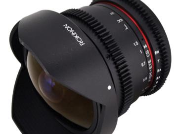 Rent: Rokinon Cine 8mm T3.8 Fisheye for Canon EF-S