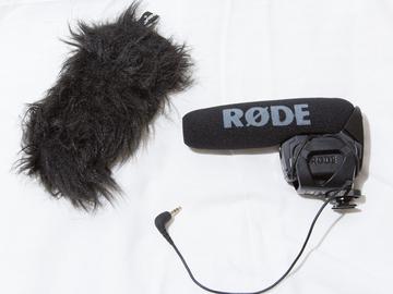 Rent: Rode VideoMic Pro shotgun mic