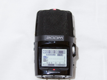 Rent: Zoom H2n Handy Recorder