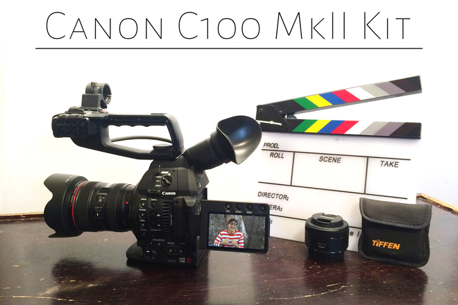Canon C100 Mark 2 Mk II mkii Kit