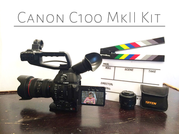 Rent: Canon C100 Mark 2 Mk II Kit