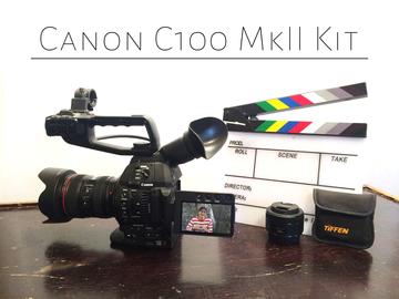 Rent: Canon C100 Mark 2 Mk II mkii Kit