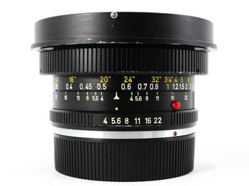 Rent: Leica 21mm f/4 Super-Angulon-R (11813)